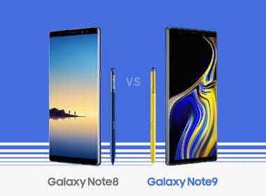 只是小改款?Samsung Note 9和Note 8規格比一比 @LPComment 科技生活雜談