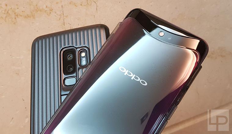 OPPO Find X、Samsung Galaxy S9+相機PK!日拍、夜拍、自拍比一比