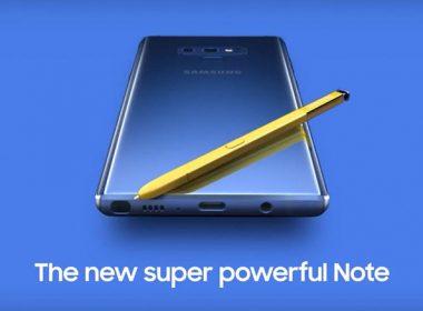 三星Note 9預購宣傳片曝光!儲存容量最高達512GB、電池續航力可滿足整天使用 @LPComment 科技生活雜談