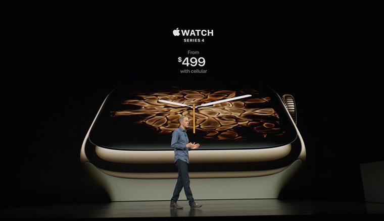 電信業者宣布11/9開賣Apple Watch Series 4,11/2搶先預約預購