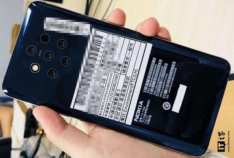 Nokia 9?諾基亞新旗艦機諜照曝光!搭載5鏡頭PureView相機模組與s845+6GB+128GB高規格