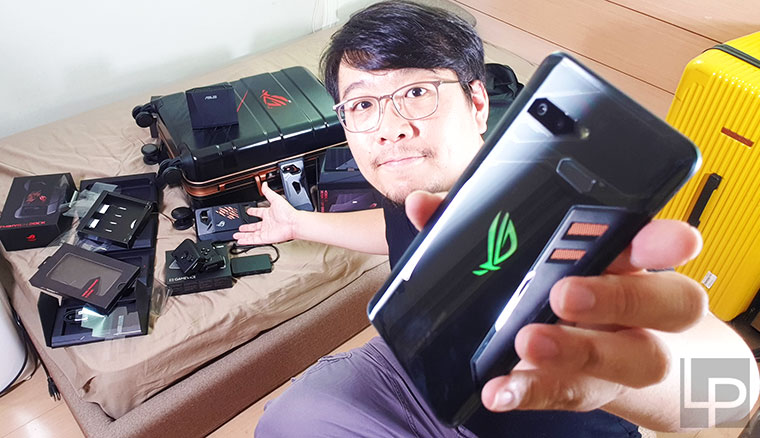 華碩ROG Phone電競手機+周邊超級大全配開箱!動手玩與效能實測