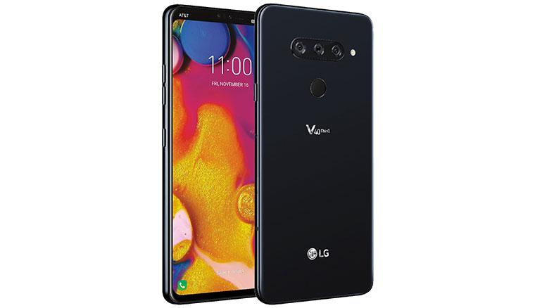 LG V40 ThinQ官圖、預告影片出爐!配備後3前2五相機設計、10/4發表