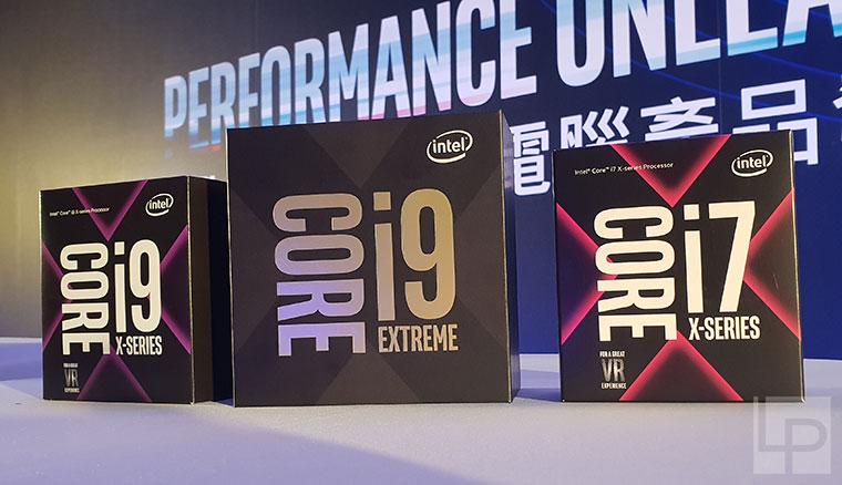 地表最強的遊戲處理器!Intel正式發表第9代Core處理器,以及Core X系列、Xeon W-3175X處理器