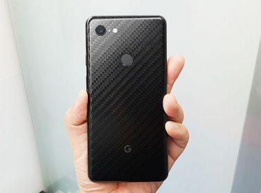Google Pixel 3 XL純粹黑碳纖維包膜、imos 3SAS保護貼體驗!直擊保護貼開發製作的過程! @LPComment 科技生活雜談