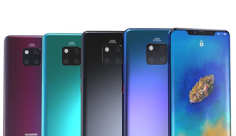 華為發表Mate 20系列共四款手機,全面搭載Kirin 980與三鏡頭主相機!
