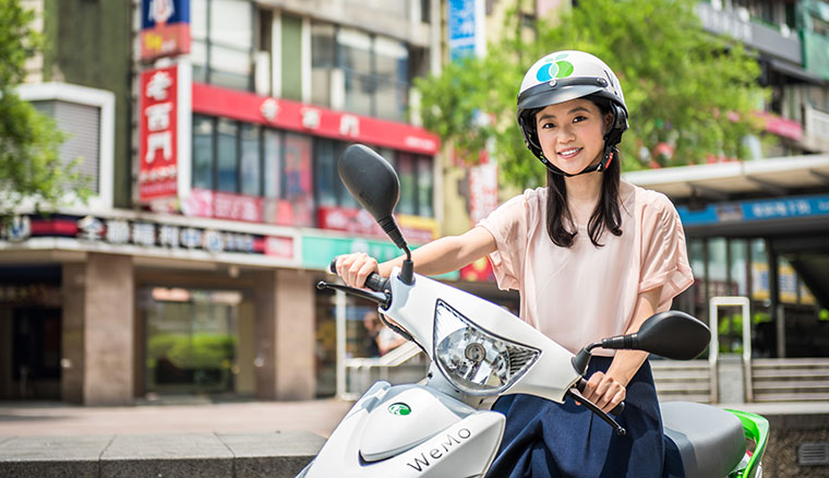 WeMo Scooter騎乘數破100萬人次,推出早晨時段8折限定優惠