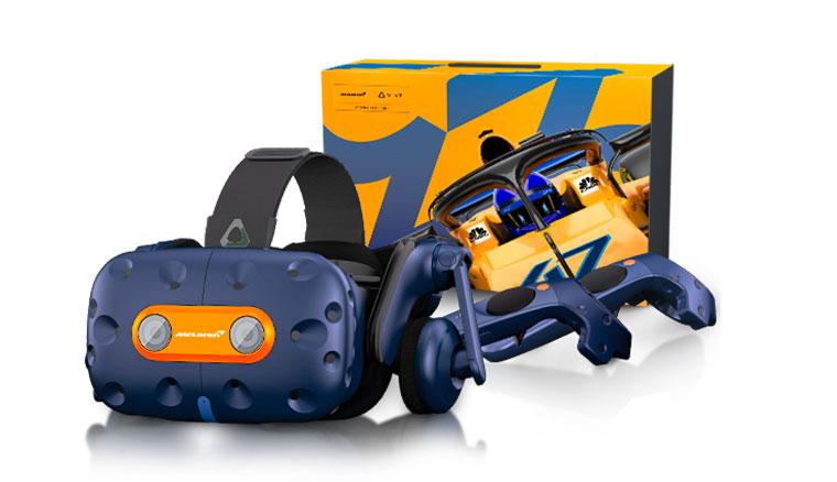 HTC與頂級跑車品牌麥拉倫合作,推出「VIVE Pro McLaren限定版」