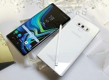 三星Note 9「初雪白」新色實機動眼看,12月初開賣售價30900元 @LPComment 科技生活雜談