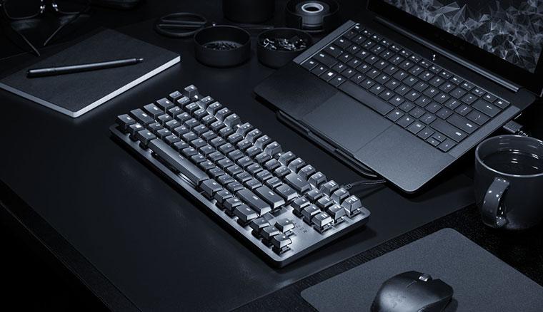 雷蛇推出BlackWidow Lite辦公室鍵盤,採80%布局與Razer橘軸