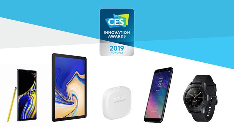 三星獲於2019 CES創新大獎奪得30個獎項