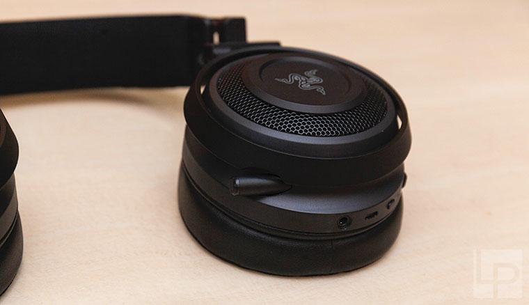 擺脫線材束縛、超強聽聲辨位!雷蛇影鮫Razer Nari無線電競耳機開箱