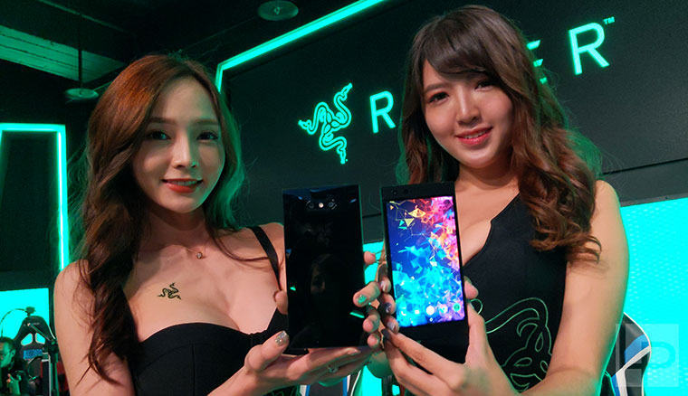 雷蛇正式在台推出Razer Phone 2電競手機與Razer Blade 15入門版筆電