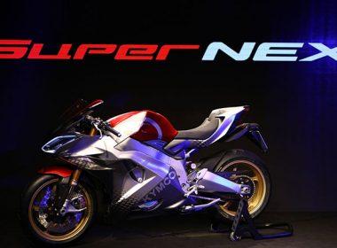 光陽於米蘭車展發表SurperNEX公升級概念電動重機,號稱0-100僅需2.9秒 @LPComment 科技生活雜談