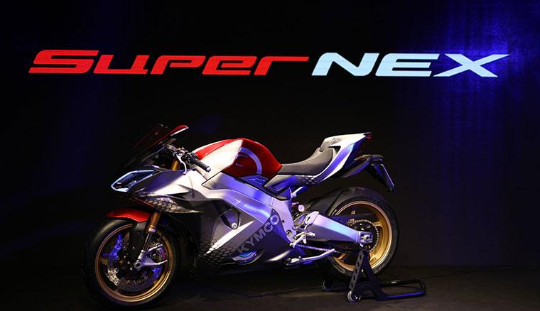 光陽於米蘭車展發表SurperNEX公升級概念電動重機,號稱0-100僅需2.9秒