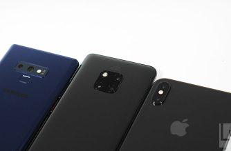 TrendForce:2019智慧型手機生產總量恐衰退達5%,預估前3名為三星華為蘋果 @LPComment 科技生活雜談