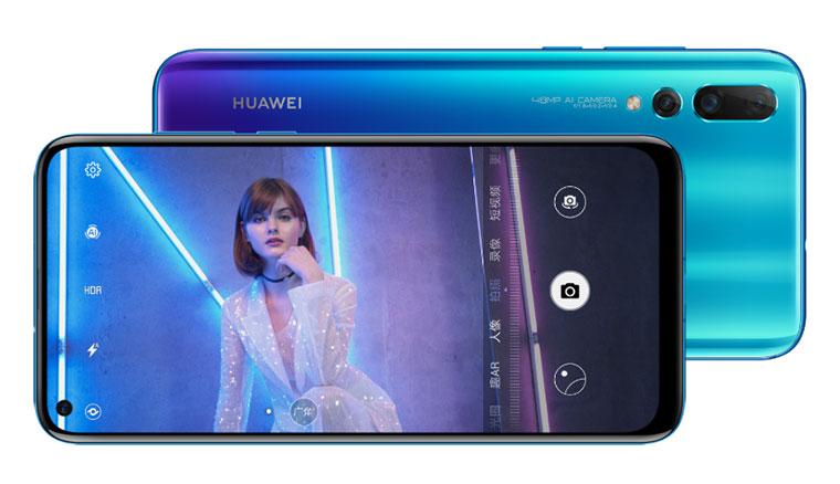 華為發表Nova 4,採用自拍極點全面屏設計