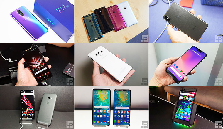 告別2018!各大手機品牌年度重點機型回顧以及2019展望