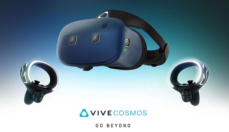 HTC發表VIVE Pro Eye及VIVE Cosmos兩款新VR裝置與VR內容吃到飽服務Viveport Infinity