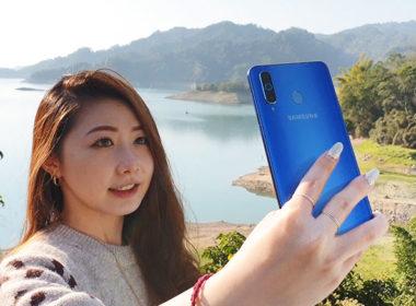 Samsung Galaxy A8s台版搶先動手玩!外型、螢幕、相機、效能測試 @LPComment 科技生活雜談
