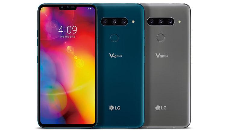 之前已經偷偷開放預購的LG V40 ThinQ,正式宣布1/30在台開賣