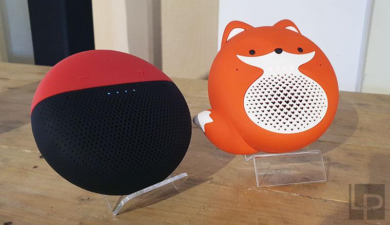 遠傳推出「小愛講」、「小狐狸」行動智慧音箱!造型可愛、內建八大獨家與四大全新服務