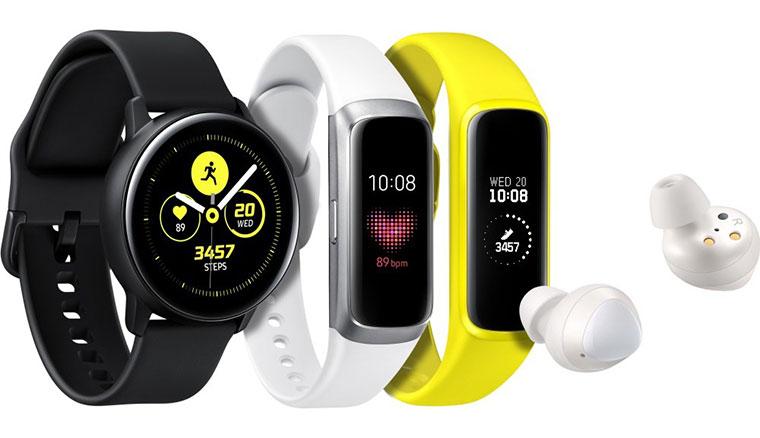 三星發表Galaxy Buds、Galaxy Watch Active、Galaxy Fit等新款智慧穿戴裝置