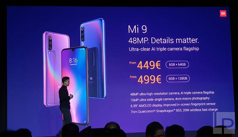 小米MIX3 5G版於MWC 2019發表,並宣布小米9於歐洲市場上市