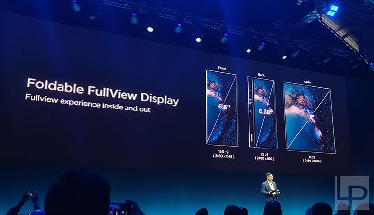 華為折疊螢幕手機HUAWEIMate X發表!超高規格、支援5G,售價超過8萬