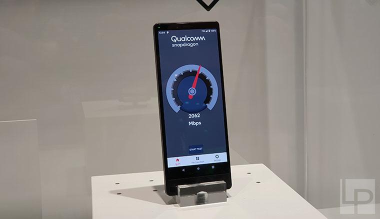 21:9螢幕+雙鏡頭:Sony 5G工程機亮相,實測網速飆破2Gbps!