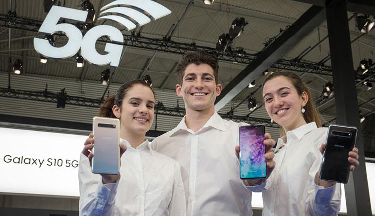三星於MWC 2019展示用於5G基地台的新世代RF晶片組
