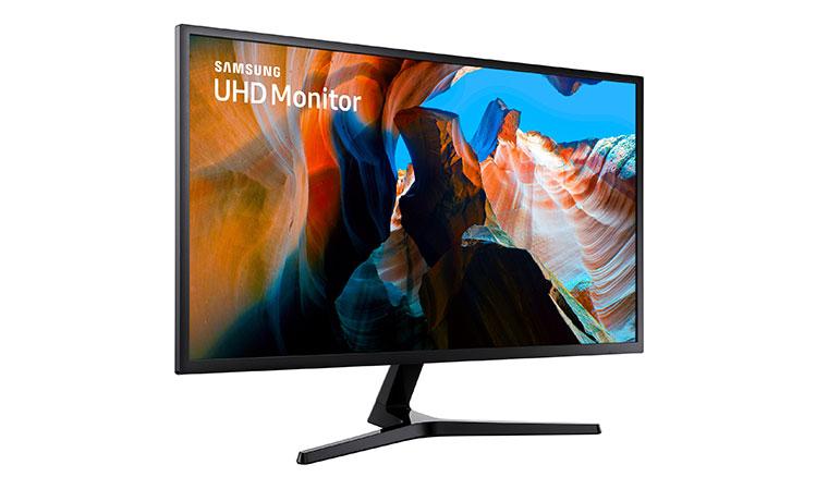 三星在台推出全球首款4K曲面顯示器U32R590C