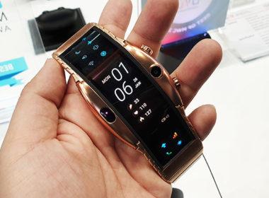 採用彎曲螢幕的手錶型手機nubia α動手玩 @LPComment 科技生活雜談