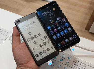 海信E-Ink雙面手機Hisense A6動手玩,還有採用開孔全螢幕的U30 @LPComment 科技生活雜談
