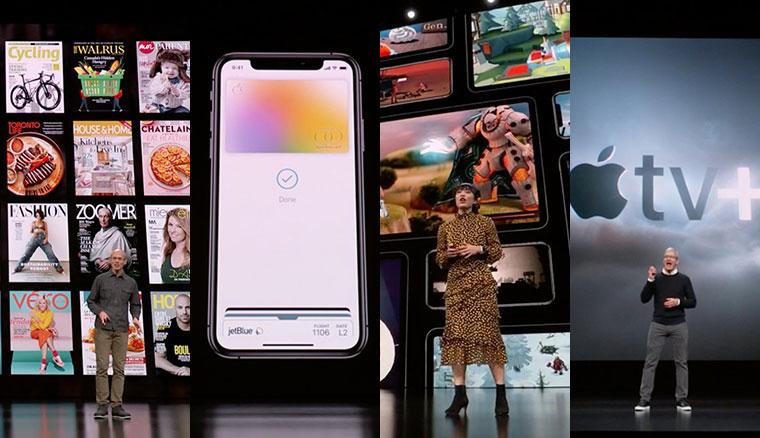 蘋果3/26發表會重點:Apple News+內容訂閱服務、Apple Card信用卡、Apple Arcade遊戲訂閱服務、Apple TV+原創頻道