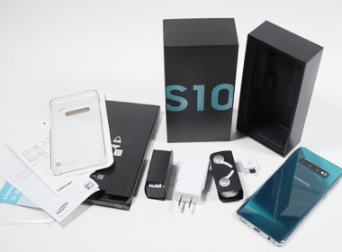 台版三星Galaxy S10絢光綠128GB開箱!與S7 edge / S8+ / S9+外型簡單比較 @LPComment 科技生活雜談