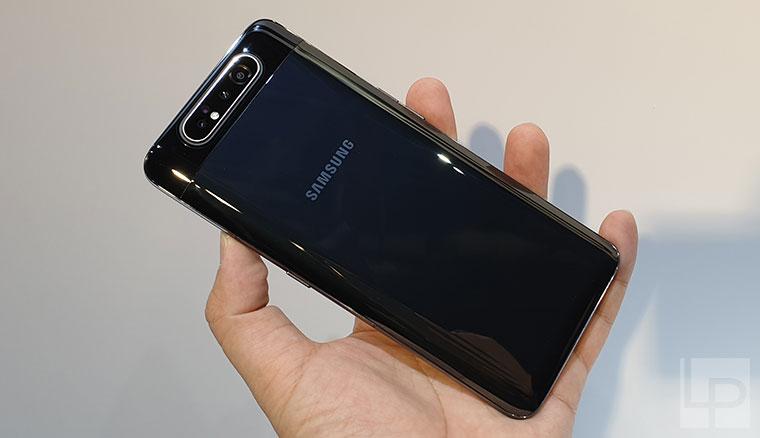 升降翻轉三鏡頭Samsung Galaxy A80快速動手玩
