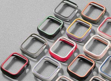 犀牛盾推出Apple Watch專用CrashGaurd NX雙色混搭保護殼 @LPComment 科技生活雜談
