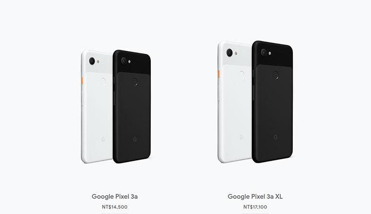 Google Pixel 3a / 3a XL原生中階機發表,台灣即日起首波開賣