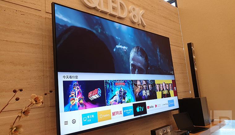 強調跨平台連線能力:三星智慧電視開放Apple TV app、Airplay2與SmartThings、Remote Access等串聯應用
