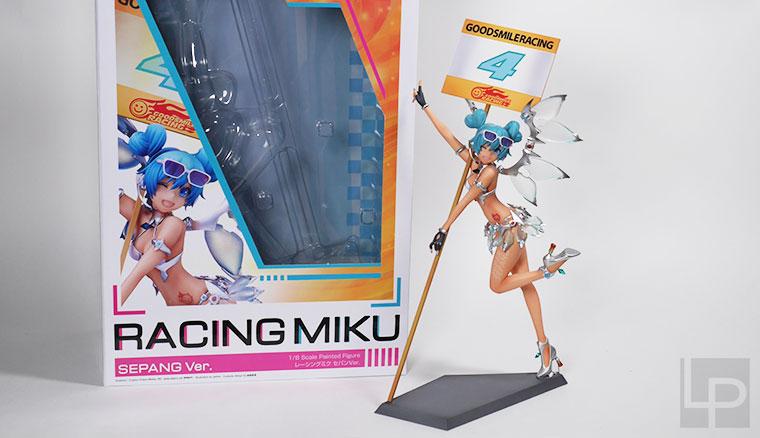 Racing Miku: Sepang Ver.賽車初音雪邦應援式樣1/8 Figure開箱