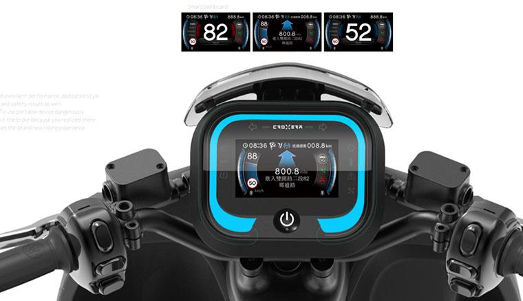 愛玩!宏佳騰公布自家智慧電動機車將命名為「Ai-1」