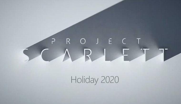 微軟公布下一代Xbox主機「Project Scarlett」規格,預計2020年底推出