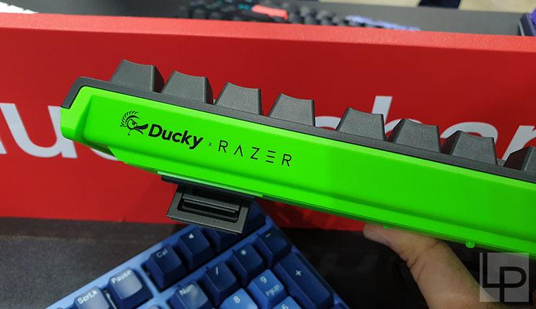 Ducky展出融合排灣特色的豬年鍵盤、與三模Freedom!阿米洛主打客製化彩繪服務