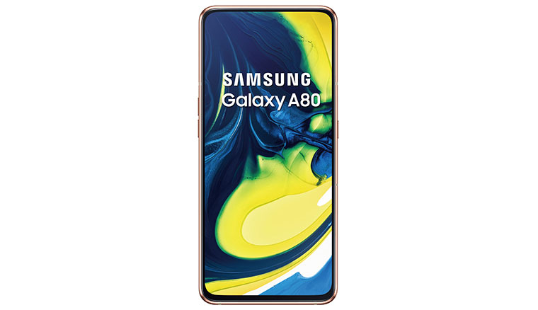 Samsung Galaxy A80台灣售價NT$19990,六月底開賣