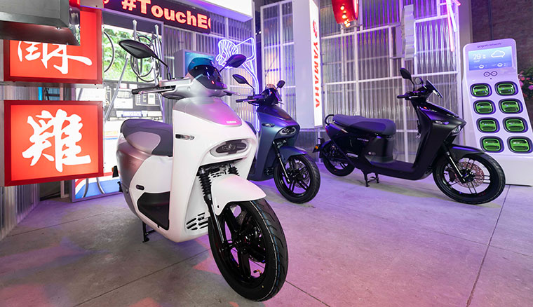 YAMAHA EC-05電動機車正式發表,售價NT$99800(QA整理)
