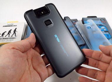 給ASUS ZenFone 6完整的防護!hoda柔石軍規防摔保護殼、2.5D滿版玻璃貼開箱 @LPComment 科技生活雜談