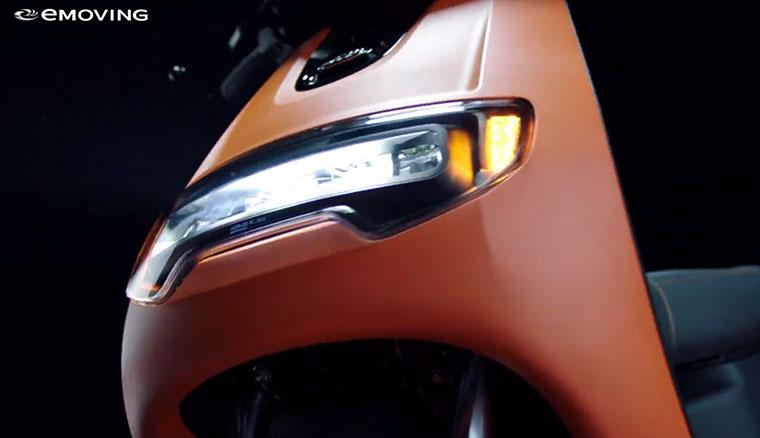 125cc同級動力、0-50 3.9s!eMOVING實車外型官方影片亮相