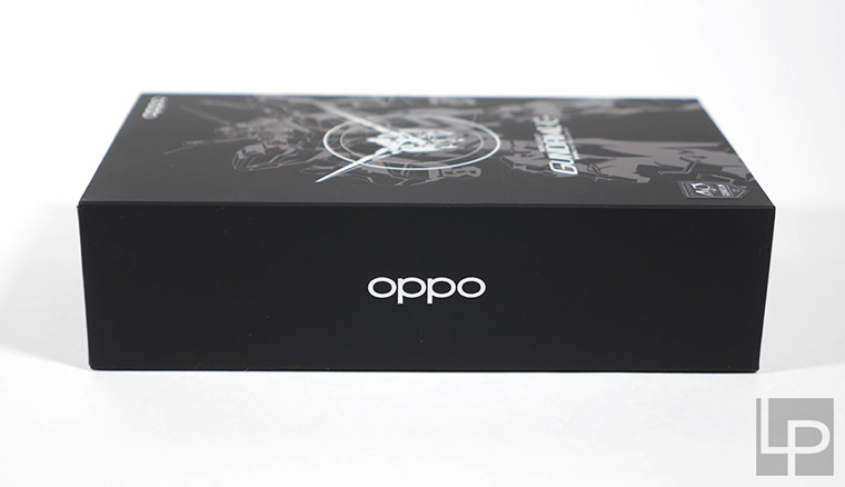 OPPO x 鋼彈40th聯名:RX-0獨角獸鋼彈VOOC閃充行動電源