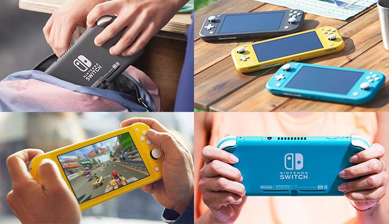 Nintendo Switch Lite發表:體積縮小、不能分離,另有寶可夢劍盾同捆版